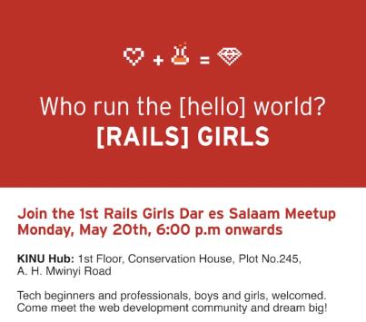 Rails Girls Community Meetup