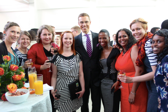 Minister Stubb and Finnish-Tanzanian Girl Power