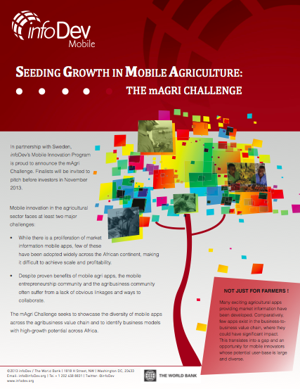 Download the mAgri Challenge brochure (pdf)