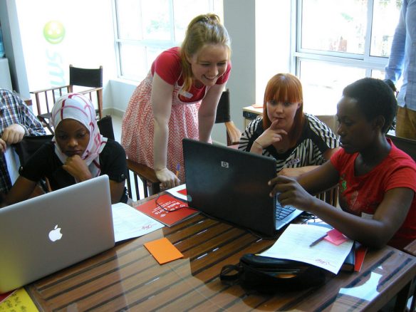 Rails Girls workshop at KINU - Click to see all photos!