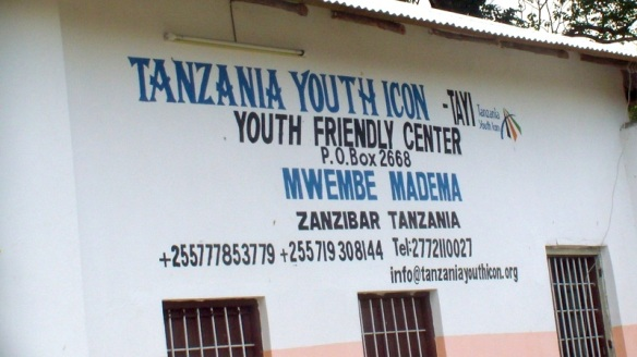 Arriving at Tanzania Youth Icon