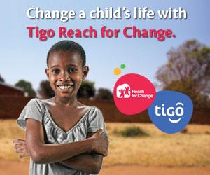 Tigo Reach for Change Banner