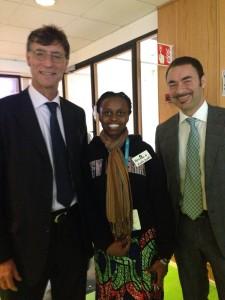 hyasintha and italian ambassador